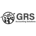 grs accounting solutions - bw logo