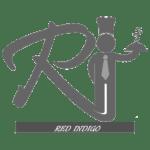 red indigo - bw logo