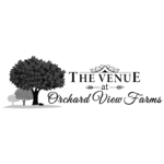 the venue at orchard view farms - bw logo